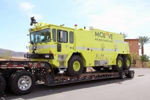 A fully rebuilt 1989 Oshkosh T-3000 is now on its way to Mojave Spaceport!