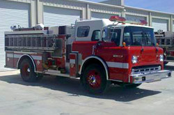 1990 Ford Smeal Pumper