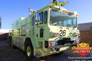 1993 Oshkosh TB-3000 ARFF Truck For Sale