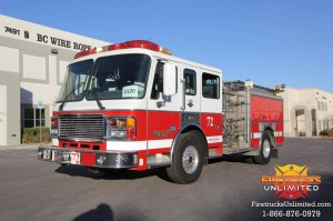 1997 American LaFrance Pumper For Sale!