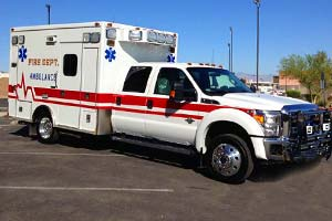 50620 Hildale Fire Department Ambulance Remount