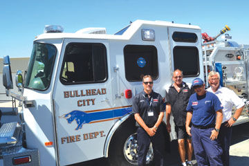 """""""Refurbished engine helps stretch BHCFD's money"""" Mohave Valley Daily News"""