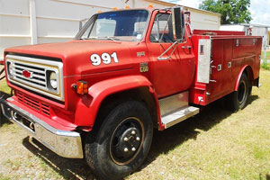 Chevy C600 Wildland Truck