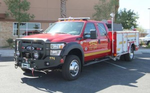 A Ford F550 Quick Attack We Manufactured