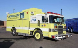 A Pierce Haz MAt Vehicle we are working on