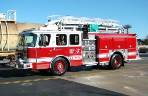 FTU delivers two fire trucks to Djibouti, Africa!