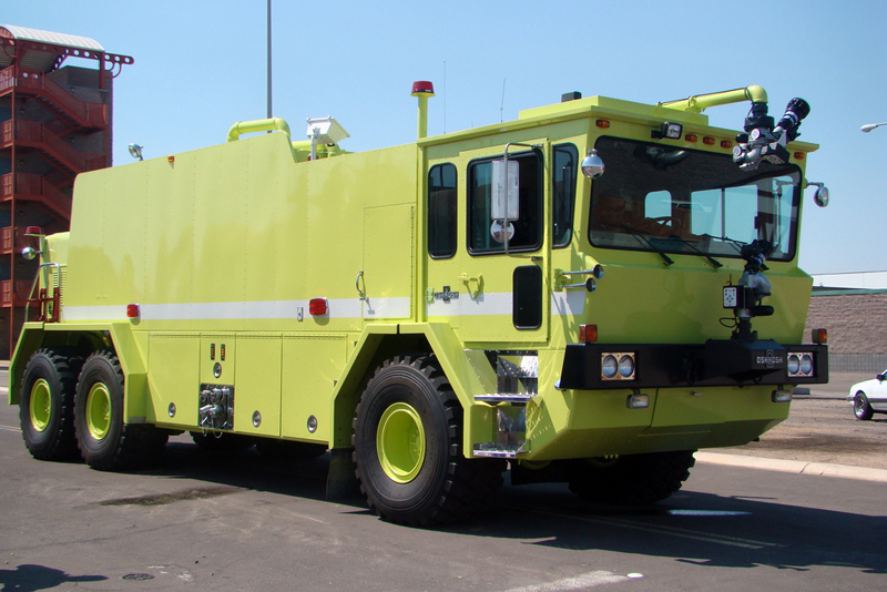 A T-3000 Crash Truck to be delivered to the Deigo Garcia Naval Base