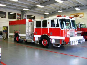 We were awarded a new solicitiation of four new KME Predator Severe Service Pumpers