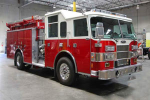 Golder Ranch Fire District - 1999 Pierce Saber Refurbishment