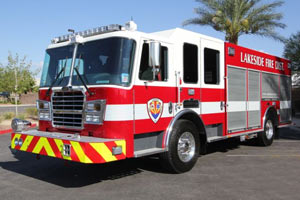 Lakeside Fire District - 2012 KME Custom Pumper