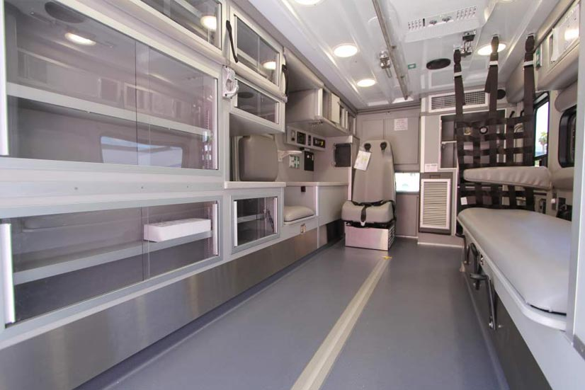 Ambulance Remount Interior