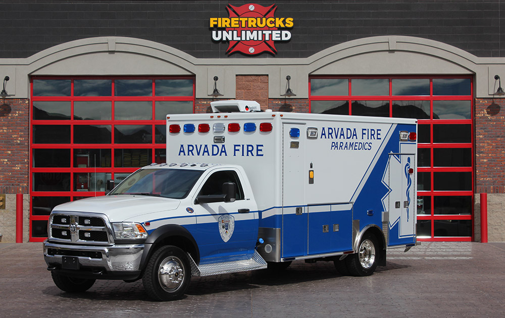 Ambulance Remounts | Firetrucks Unlimited | Ambulance Repair