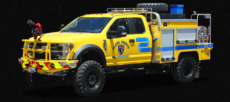 REBEL Type 6 Brush Trucks