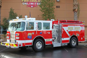 Drexel Heights Pierce Pumper Refurbishment