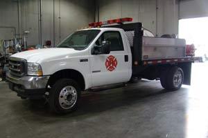 F550 Wildland Truck