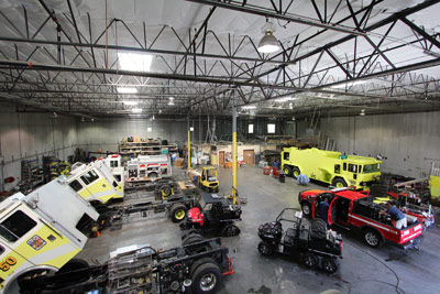 Firetrucks Unlimited Mechanical Shop