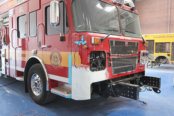 Fire Truck Body Work