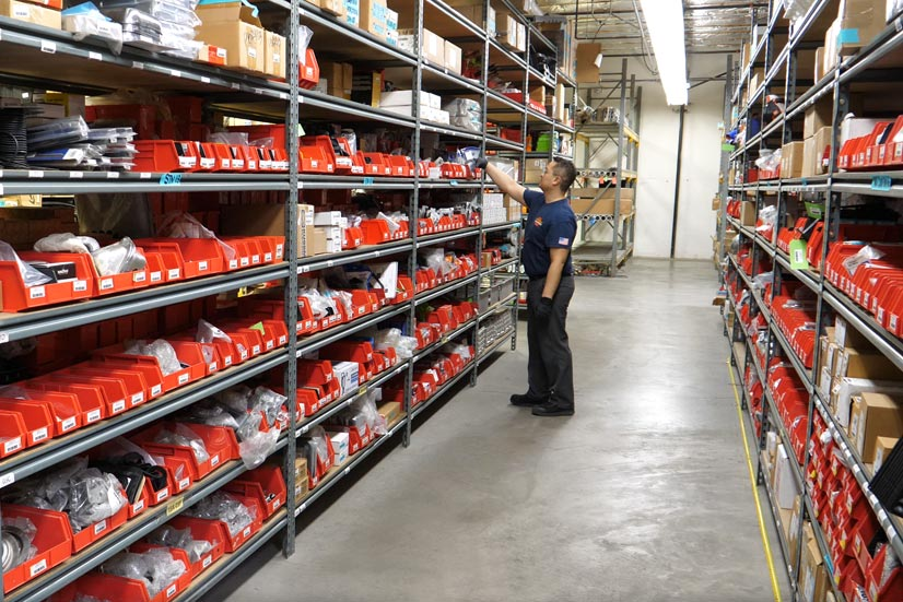 Fire Truck Parts Warehouse