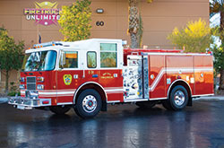 We offer fire truck refurbishing