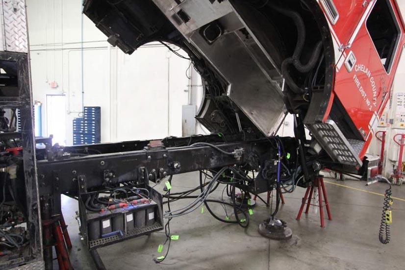 Fire Truck Refurbishment Pumper