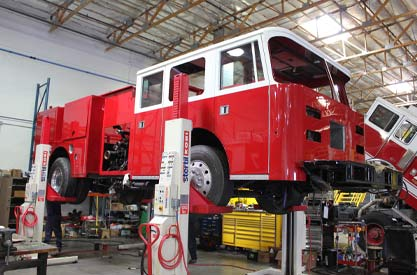 Fire Truck Refurbishment