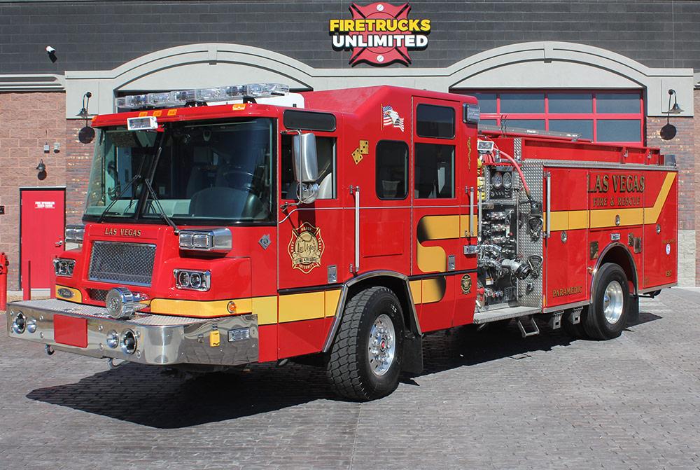 Fire Truck Lighting Upfits