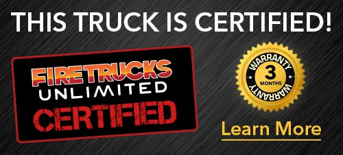 Firetrucks Unlimited Certified Pre Owned Fire Apparatus