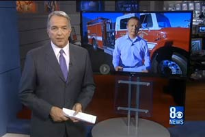 Firetrucks Unlimited Featured on Channel 8 News