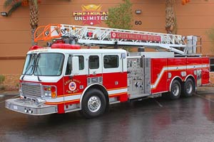 Green Valley Fire District American LaFrance Aerial Refurb