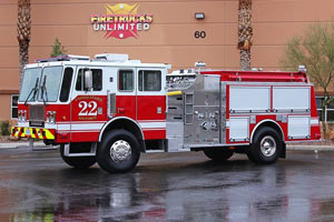 Kirtland Air Force Base – 1994 KME Pumper Refurbishment