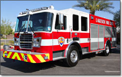 Lakeside Fire District KME Pumper