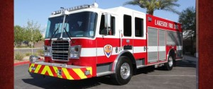 Lakeside Fire District's New KME Pumper is Out For Delivery!