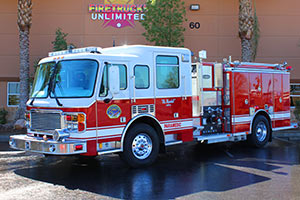 Layton Fire Department - American La France Pumper Refurbishment #1192