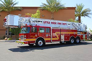 Little Rock Fire Department Pierce Platform Refurbishment