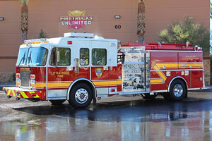 Little Rock FD – 1998 Spartan/Quality Pumper Refurbishment