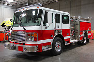 Maricopa County Community College - American La France Pumper Refurbishment