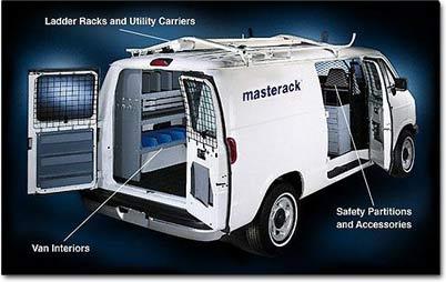 Masterack Van Interiors