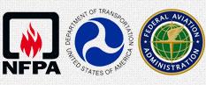 NFPA, DOT, FAA