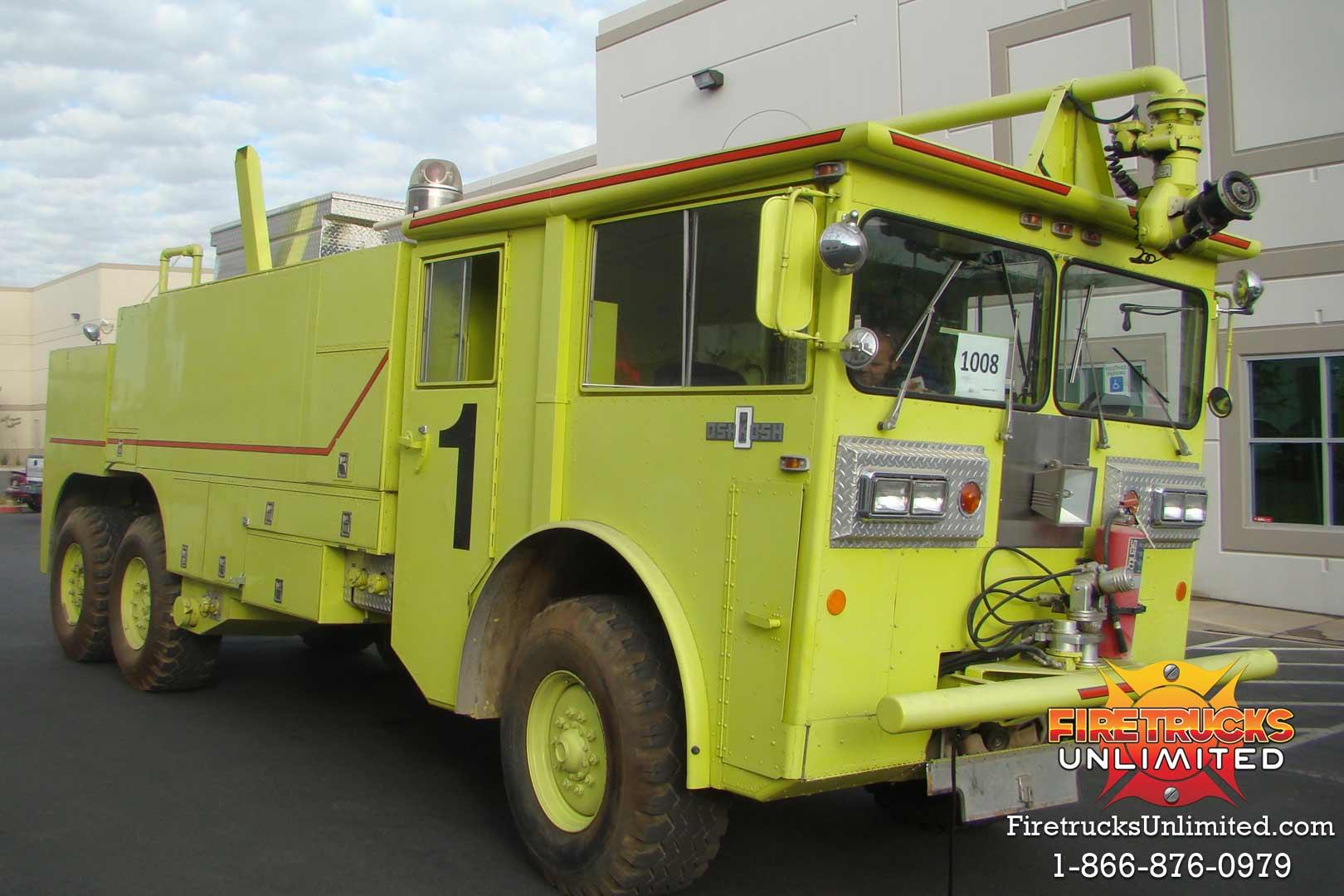 Oshkosh M-1500 ARFF Truck For Sale - Firetrucks Unlimited