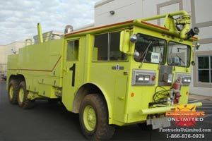 Oshkosh M-1500 ARFF Truck For Sale