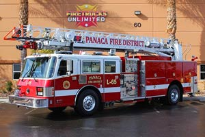 Panaca Fire District Simon Duplex Aerial Refurbishment