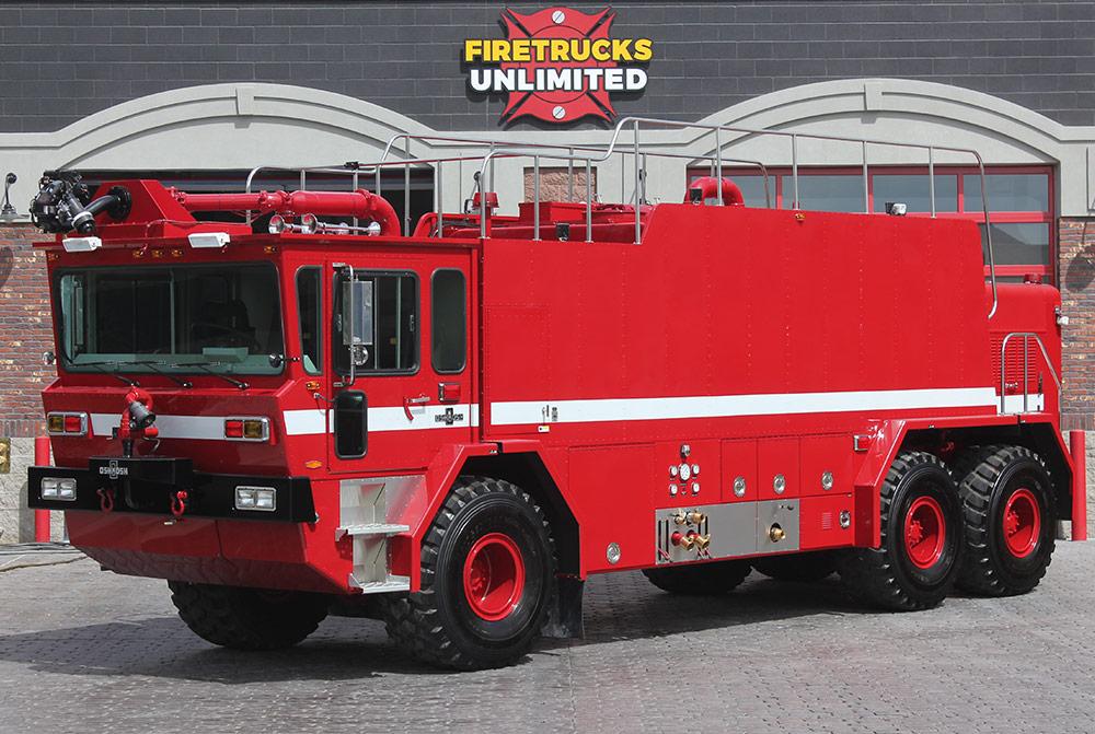 Refurbished ARFF Fire Trucks