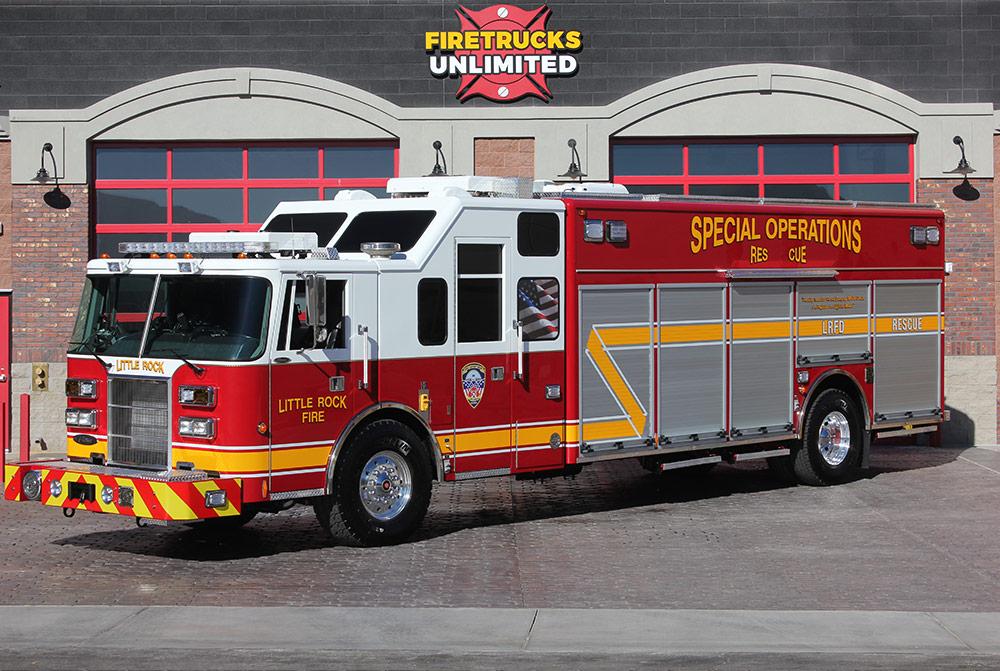 Refurbished Rescue Fire Trucks