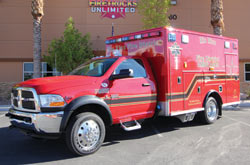 We offer ambulance remounts
