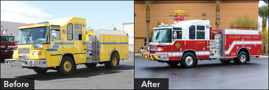 Fire Truck Repaints