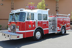 Sedona Fire District - 2001 KME Pumper Refurbishment