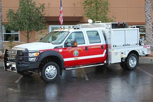 Sonoma County Quick Attack Brush Truck