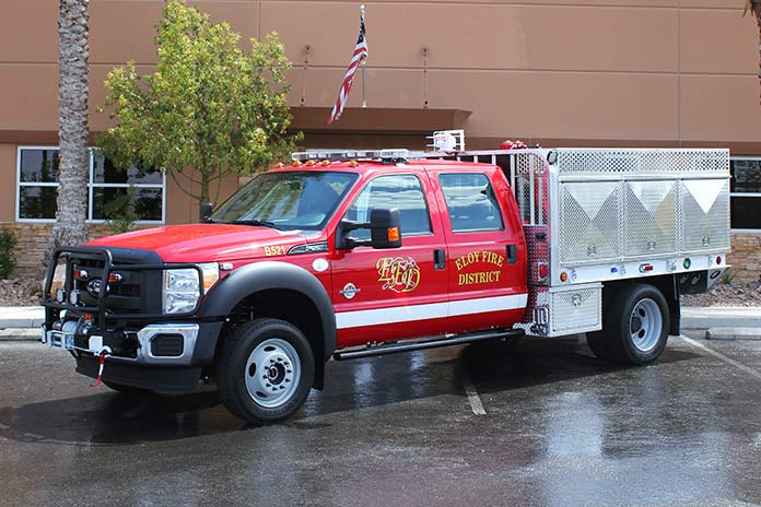 Eloy Fire District REBEL Brush Truck