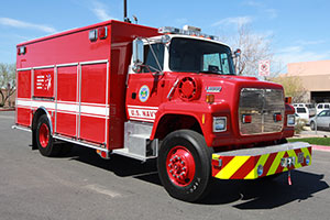 U.S. Navy – Ford L8000 HAZMAT/RESCUE conversion