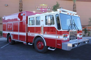 U.S. Navy Pumper to Rescue Conversion #1